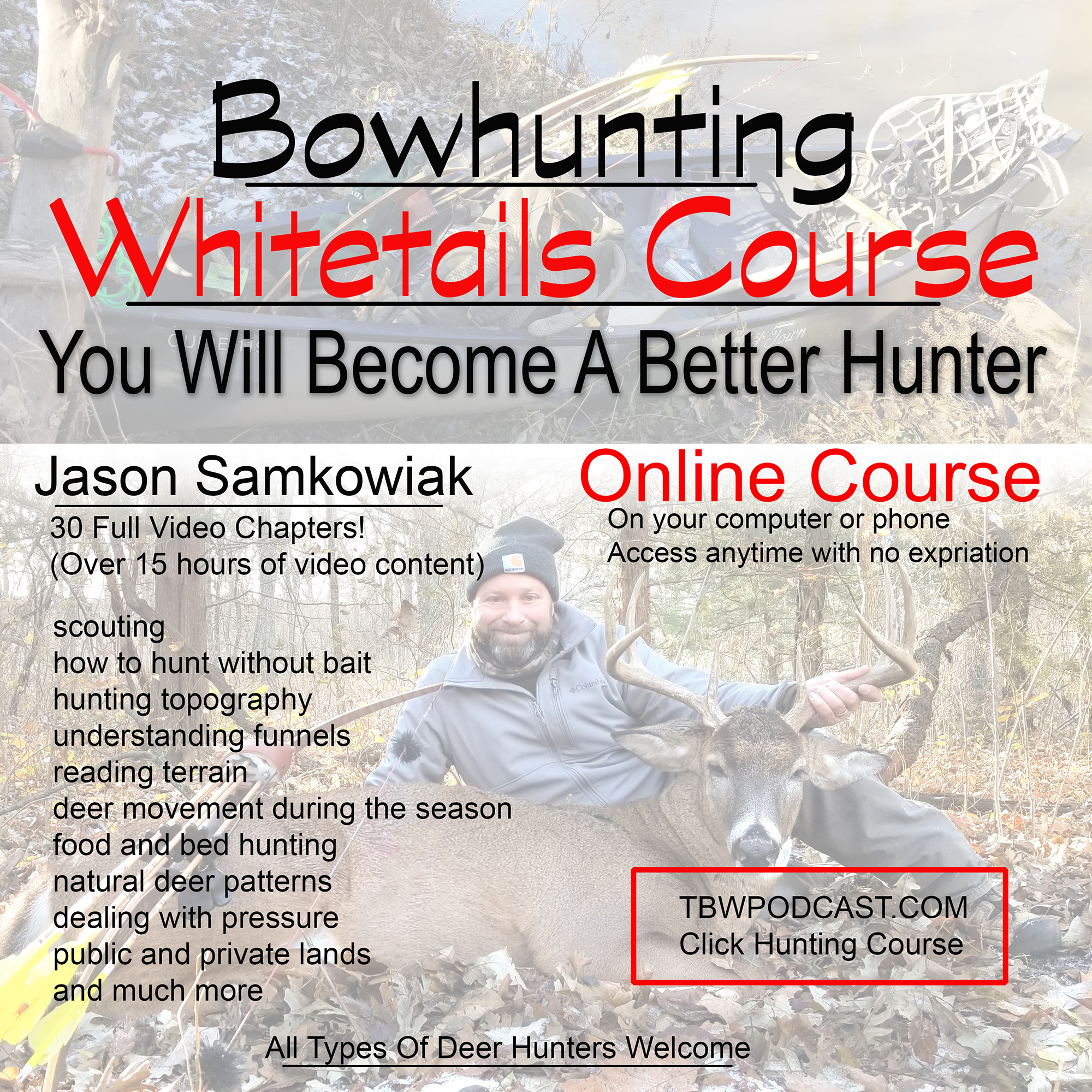 bowhunting whitetails course ad1